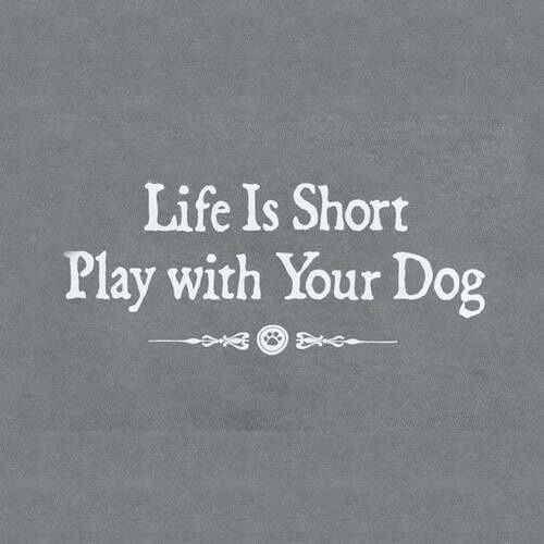 ❤ Life is Short --- Play with your Dog ❤