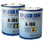 Pettit Splash Zone Putty Kit 1/2 Gallon (US ONLY) A788HG