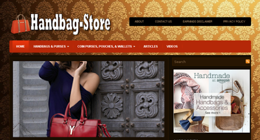Handbag-Store.xyz - starter site listed on Flippa