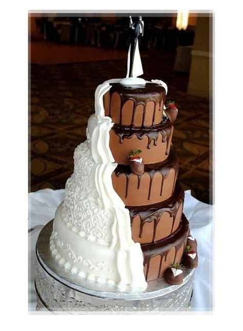 crazy wedding cake idea   bella wedding