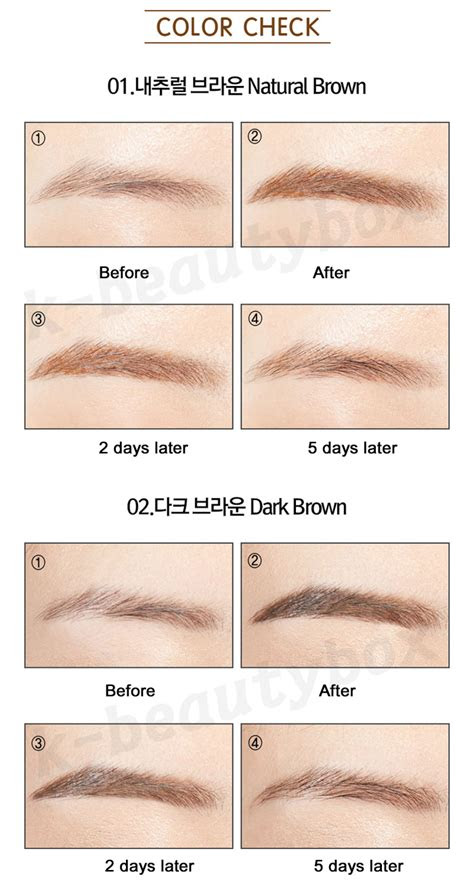 luxe tattoo eyebrow lasts days long lasting
