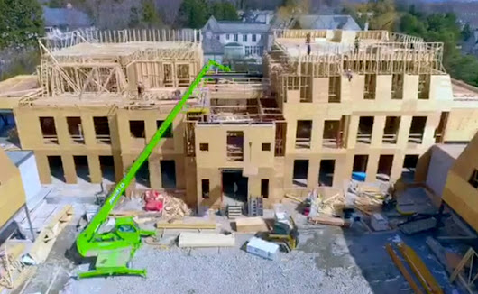 Watch video of Drake's new Toronto mansion being built