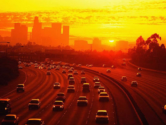 Image: Sunset Los Angeles Wallpapers | Download Wallpaper | Pinterest ...