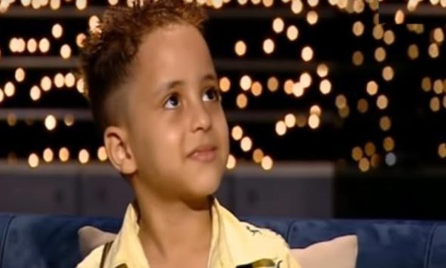 The crying child as seen during an interview - Screenshot