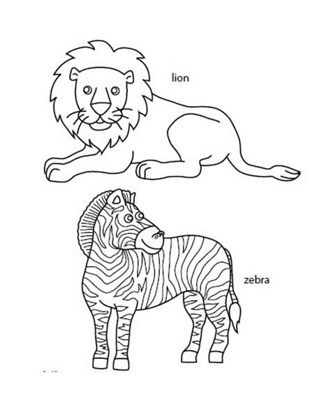 grassland animals coloring pages  coloring pages