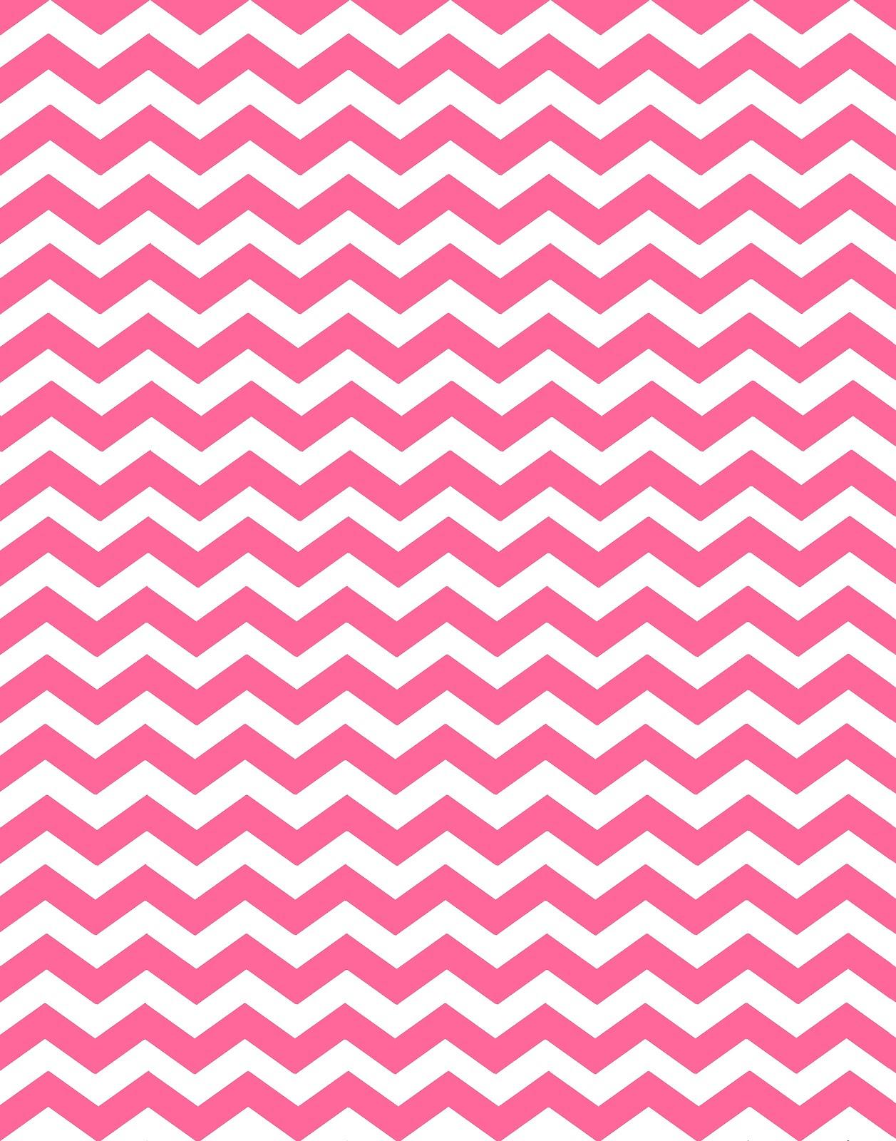 Pink And White Chevron Wallpaper Wallpapersafari