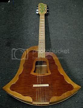 Frank Eatherly Bell Shaped Guitar