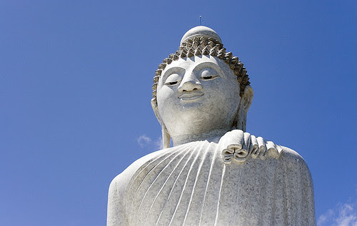 Phuket Big Buddha with Blue Sky