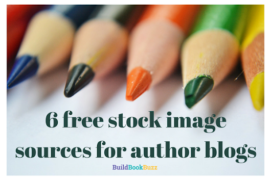 6 free stock image sources for author blogs - Build Book Buzz
