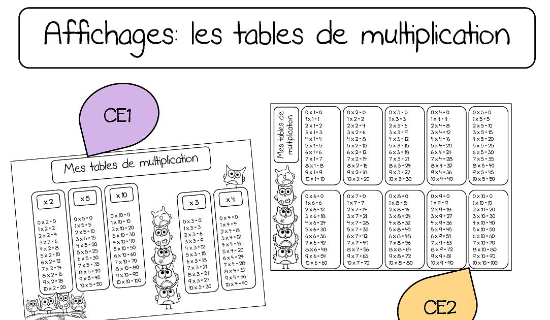 Meuble cuisine dimension table de multiplication ce1 - Reviser les tables de multiplications ce1 ...
