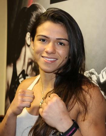 Cláudia Gadelha UFC (Foto: Evelyn Rodrigues)