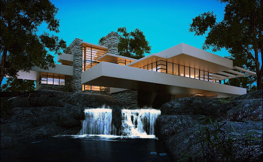 Fallingwater House — Bauhaus Movement
