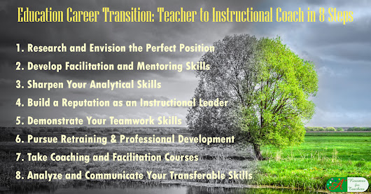 Education Career Transition: Teacher to Instructional Coach in 8 Steps