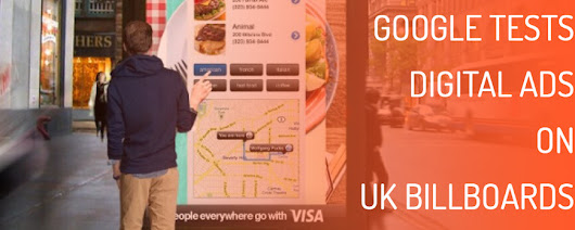 Google Tests Digital Ads on UK Billboards | Four Dots Blog