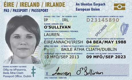 Minister Flanagan announces new passport card - Department of Foreign Affairs and Trade