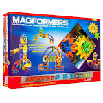 Magformers 63205 Magnets In Motion - 61 Piece Gear Set