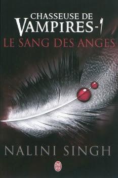 Couverture Chasseuse de vampires, tome 1 : Le Sang des anges