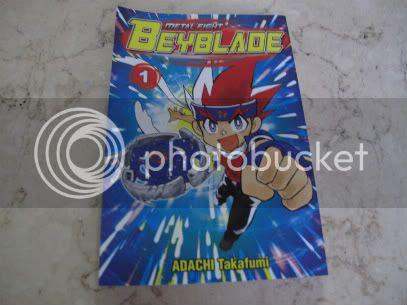 English Metal Fight Beyblade Manga