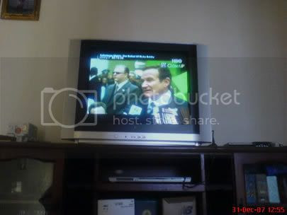 TV baru kami