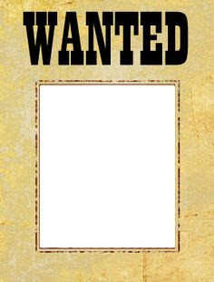 Most Wanted Poster template - printable flyer design, old crumpled ...