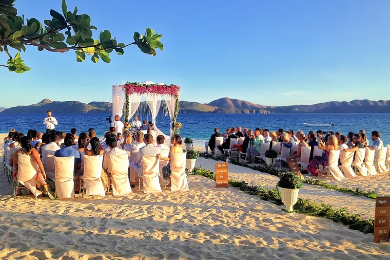 Coron Palawan Beach Wedding Club Paradise Resort