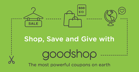 Friends don't let friends shop without giving back.