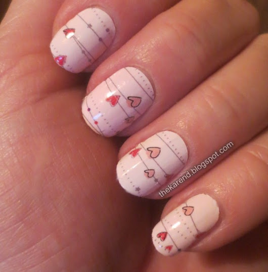 Nails of Valentine's Day