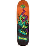 "Santa Cruz Skateboards Tom Remillard Remillard Lit AF Black / Orange Skateboard Deck - 8.8"" x 31.73"""
