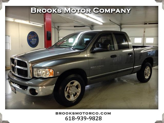 Used 2005 Dodge Ram 2500 for Sale in St Louis MO 63129 Brooks Motor Company