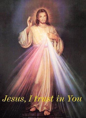 The image of the Divine Mercy devotion