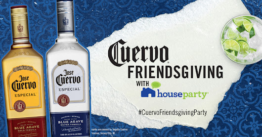 You've got to check out Jose Cuervo®'s Cuervo® Friendsgiving House Party event on Ripple Street!