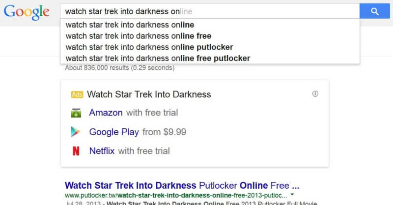 جوجل تقرر خفض  ترتيب المواقع الت تنتهك حقوق الملكية في نتائج البحث