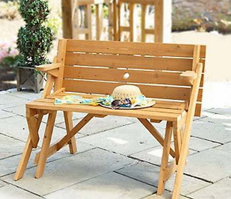 Interchangeable Picnic Table Bench