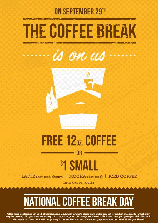Celebrate National Coffee Day With Us