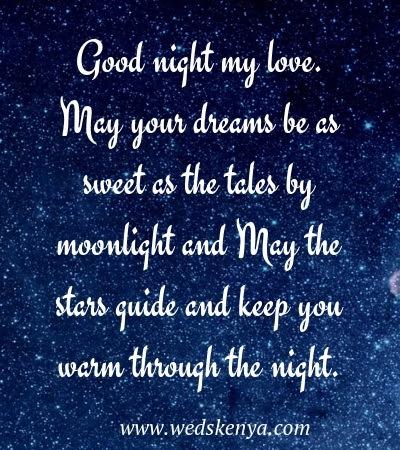 Good Night Sms Romantic Good Night Sms Weds Kenya