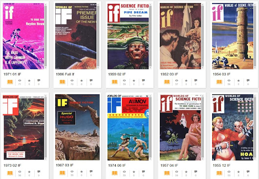 Read: The full run of If magazine, scanned at the Internet Archive