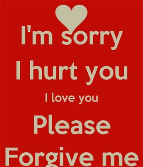 Sorry For Hurting You Quotes And Sayings