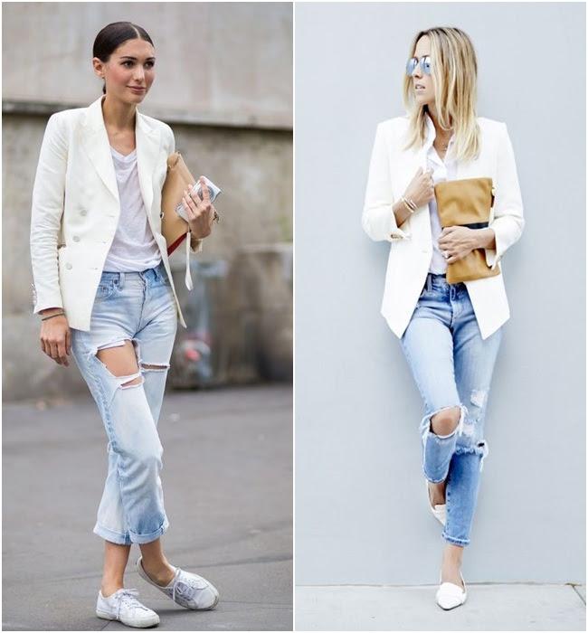 Resultado de imagem para blazer branco
