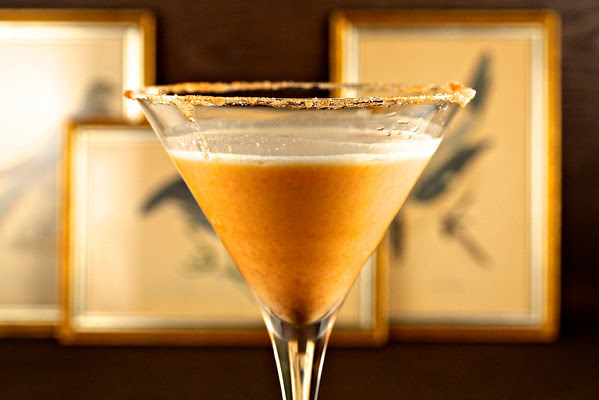 pumpkin martini and 20 Thanksgiving Day Recipes and a Bonus Turkey Leftover Recipe