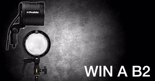 Wedding Photographers: Win a $2000 Profoto B2 Flash for FREE