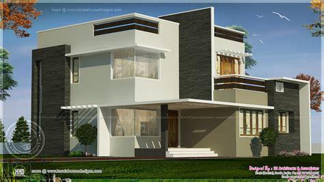 square feet box type exterior home kerala plans dma