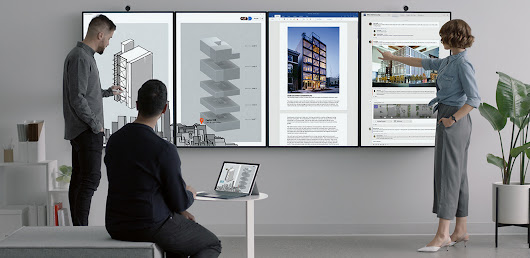 Meet Surface Hub 2 - Microsoft Devices Blog