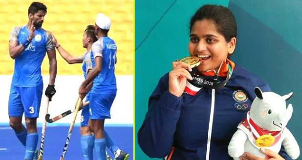 Asian Games Day 4: Rahi Sarnobat Wins Gold, Indian Hockey Team Witness Historic Win