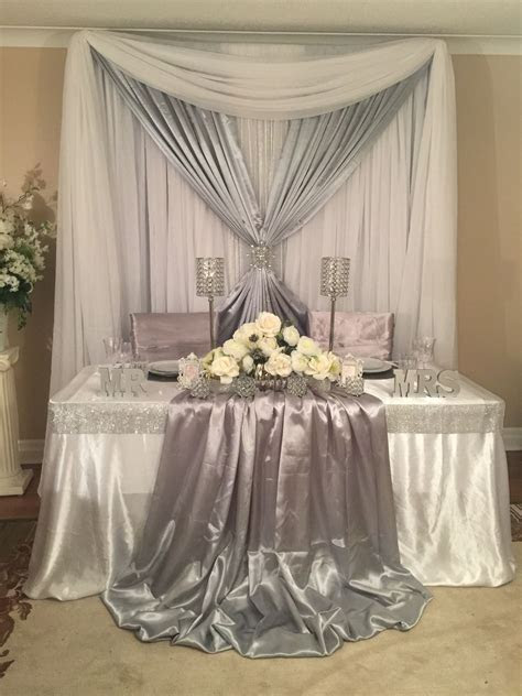 Sweetheart table wedding decor   Backdrops, Sweetheart and