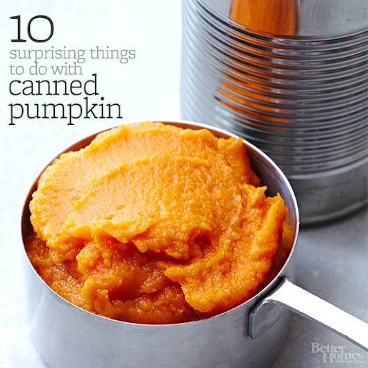 10 Surprising Things to Do with Canned Pumpkin