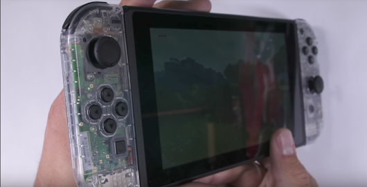 Nintendo Switch: Clear Edition selbst gemacht |