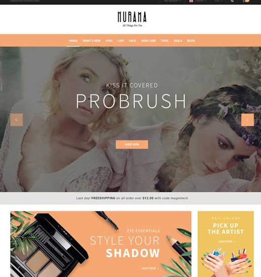15+ Best OpenCart Themes for Cosmetics and Beauty Shop 2016