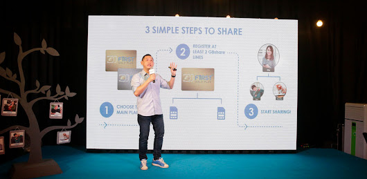 Celcom GBshare – share up to 70GB of Celcom FIRST data
