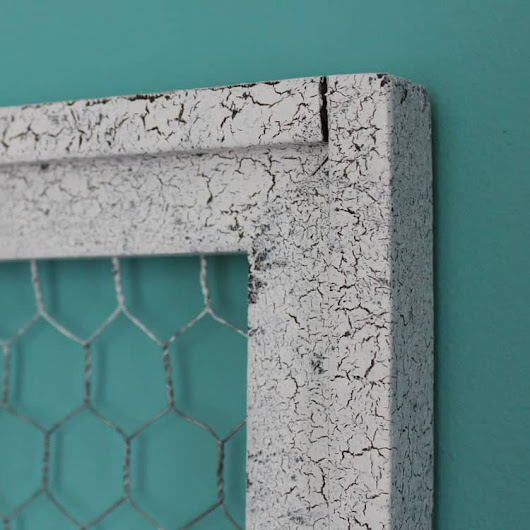 How to Apply Crackle Finish Paint - The Summery Umbrella