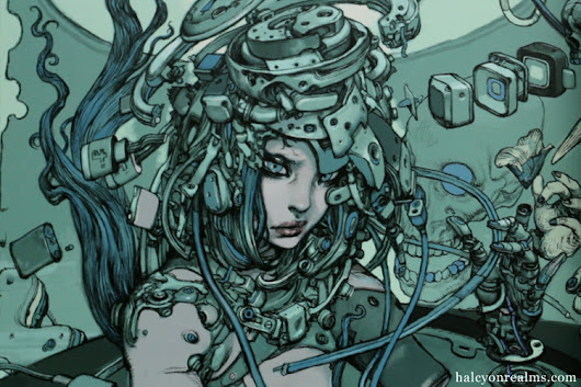 Tokyo Sweet Gwendoline Sorayama/RJB/Terada Art Book Review - Halcyon Realms - Art Book Reviews - Anime, Manga, Film, Photography